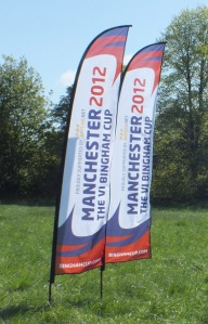 Flags made for Bingham Cup